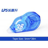 Buy cheap Blue Colored Correction tape Large Capacity 5mm * 38m NO.T-9805 product