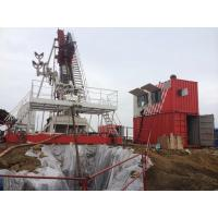 Buy Oilfield Rig Equipment Drilling Rig Top Drive Inclined Adjustable Mast  12 - 90 Deg at wholesale prices