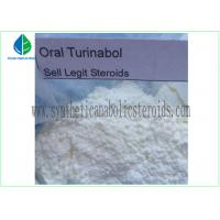 CAS 2446-23-3 Androgenic Anabolic Steroids 4 Chlorodehydromethyltestosterone Oral Turinabol for sale