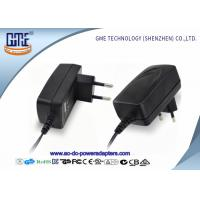 Low Ripple CE GS ROHS Approved EU Plug 12V 1A AC DC Power Adapter For Acoustics