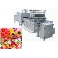 China Long Duration Time Jelly Bean Candy Making Machine Touch Screen Control Type on sale