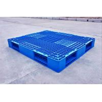 China Economical Nestable Light Weight Recycled Plastic Pallets For Warehouse Storage on sale