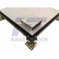 China Ceramic Raised Access Floor System Abrasion Resistant For Bank on sale