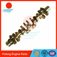 China excavator parts in the China, Mitsubishi 6D20 6D22 crankshaft ME999368 ME999367 for HD880 on sale