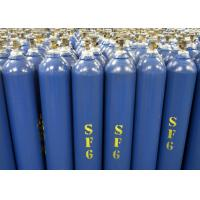 Quality How to buy sulphur hexafluoride sf6 gas from China Purity 99.999% in 40L gas cylinder for sale