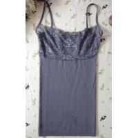 China ladies' seamless  camisole with lace on sale