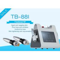 Quality Portable Fractional RF Microneedle Machine For Wrinkle / Stretch Mark Removal for sale