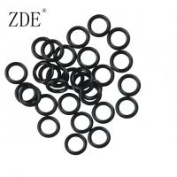 Quality Corrosion Resistance Black Small Tiny Rubber Nitrile Sealing Rubber O Ring Gasket for sale