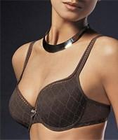 Quality 20% Polyester OEM K Cup Black Adults Breathable ODM Plus Size Convertible Bra For Ladies for sale