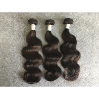 Quality Real Peruvian Human Hair Extensions Full And Thick Hair Bundles None Chemical Processing for sale