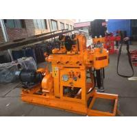 China Light Weight Diamond Core Drilling Rig 30-300m For Water Well 13000w Power on sale