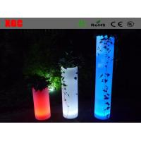 Buy cheap Plastic  Light up multi colors round  LED  Decorative Furniture for outdoor from wholesalers