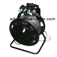 Quality Military Ruggedized Tactical Fiber Optic Cable SM MM With Tight Buffer Coning for sale
