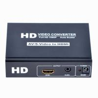Buy cheap CVBS+S-Video+R/L Audio to  Converter Supports OSD Menu Operation product