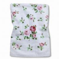 Quality 100% Cotton Bath Towel with Beautiful Reactive Printing, Various Colors and Sizes are Available for sale