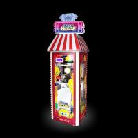 China Floor Standing Ticket Eater Machine Double Side Design Transparent And Strong Recognition Degree on sale