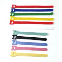 Quality Reusable Coloured Hook Loop Hook And Loop Cable Ties For Shoes , SGS ROHS Approved for sale
