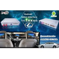 Quality Android 5.1 6.0 GPS Navigation Video Interface Box For New Toyota & Lexus IS ES NX RX GX LX for sale