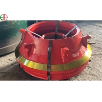 Quality Manganese Steel  Mn20Cr2 Impact Cone Crusher Wear Part Concave for sale