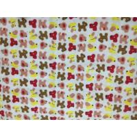 Quality printed brushed wholesale baby flannel fabric for sale