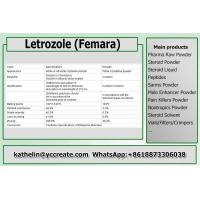 China Anti Estrogen Steroid Powder Letrozole / Femara For Running Steroid Cycle PCT 112809-51-5 on sale