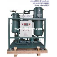 Buy cheap Emulsified Turbine Oil Filtration System   SteamTurbine Oil Treatment Plant   from wholesalers