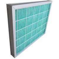 Quality Aluminum Frame Pleated Panel Pre Air Filters for Home / Residential ISO9001 for sale