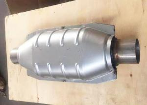 Quality Inlet / Outlet Id 51mm SUS Car Catalytic Converter for sale
