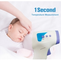 Quality LCD Backlight Infrared Sensor Handheld Forehead Thermometer for sale