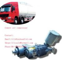 8cbm factory directly supply 3 axles cement silo compressor for bulk cement truck