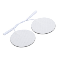 China Silicone Cover Self Adhesive Tens Gel Conductive Electrode Strong StickyEMS Units Electrode Pads on sale