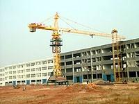Quality Tower Crane Including Height Limiter, Weight Limit Max. Lifting capacity: 6ton for sale