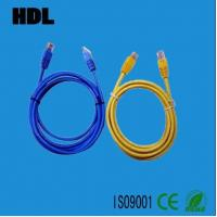 Buy cheap network cat5e cat6 patch cord cable with RJ45 plug product