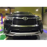 China Car Parts auto body kit car Guard front bumper for 15 Highlander on sale