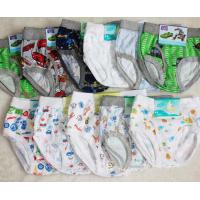 Buy cheap 100 Cotton Breathable Cartoon Organic Little Kids Underwear product