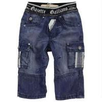 Quality Customizable trendy Breathable kid fashion jeans shorts jeans for boy for sale