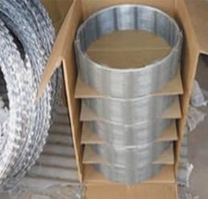 Quality Galvanzied razor wire /Concertina Razor Wire for sale