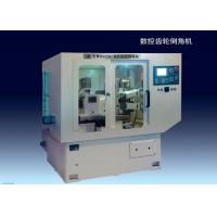 Quality 10KVA 2 Axis CNC Double Head Chamfering Machine For Disc-Type Gears And Ring Gears for sale