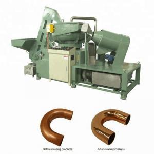 China U Shape Hairpin Tube Cleaning Machine , PLC Control Tube Deburring Machine on sale