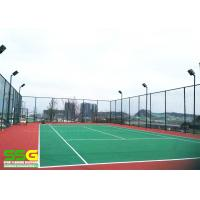 Quality Durable 8mm Cusion Sport Court Surface PU Painting Corrosion Resistant Surfacing for sale