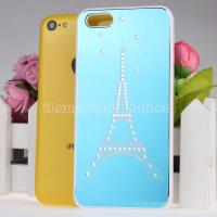 Buy cheap Electroplate Eiffel Tower Pattern Hard Case For iPhone 5C from wholesalers