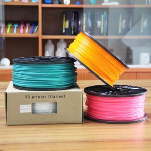 Quality 1.75mm Transparent ABS Filament / Translucent ABS Filament For 3D Machine for sale