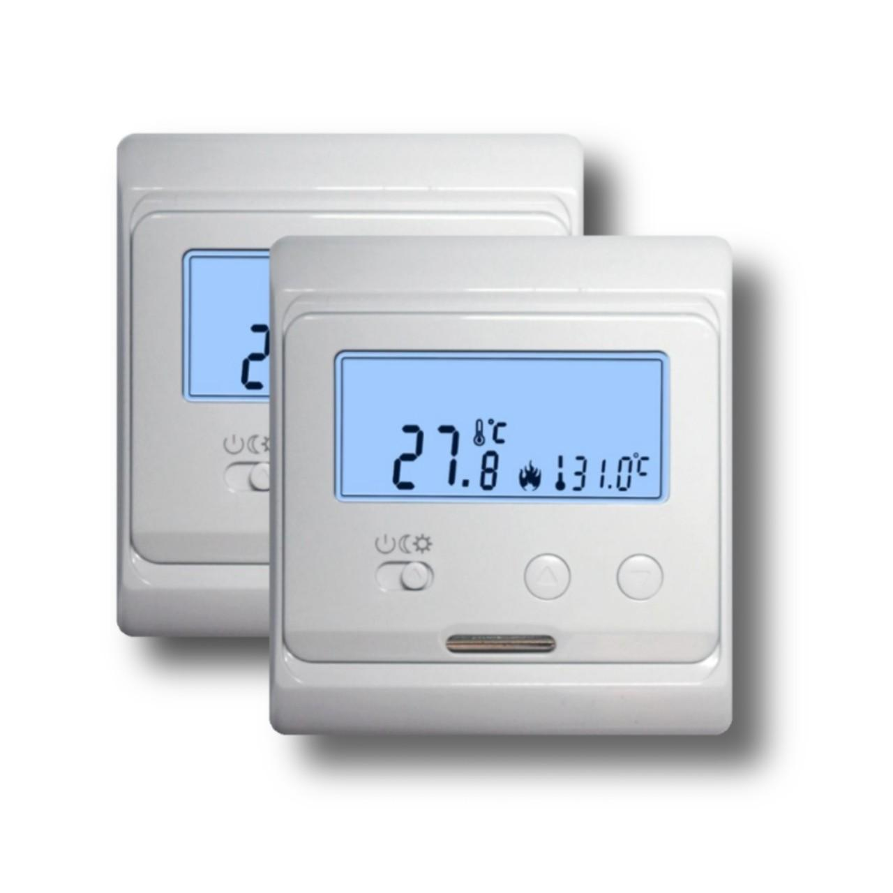 Quality Fireproof ABS Electronic Room Thermostat 230VAC Omron Relay Eco - Friendly for sale