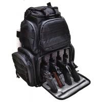 Quality 4 Pistol Tactical Rifle Case Backpack , Durable Military Duffle Bag For Shooting for sale