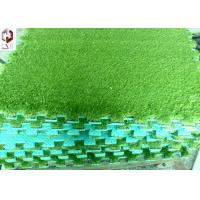 Quality Landscaping Artificial Grass , Green Fake Turf Grass 3/8inch Gauge for sale