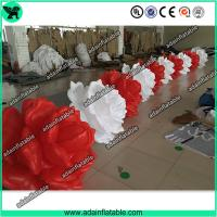 Quality Wedding Inflatable Decoration,Decoration Inflatable Flower,Inflatable Flower Chain 10m for sale