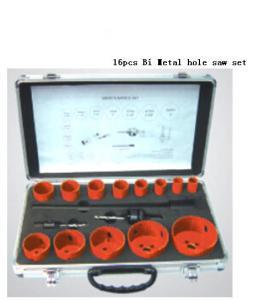 Quality JWT 16PCS HSS Bi Metal Hole Saw Set -professional manufacture for sale