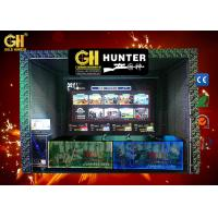 Buy cheap 4 Players Crazy Virtual Shooting Simulator With Arc Screen 18 Months Warranty from wholesalers