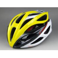 Buy Yellow Downhill Mountain Biking Helmets Safe 20 airflow vent holes at wholesale prices