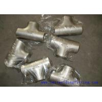Buy cheap Stainless Steel Tee  ASTM Butt-welded Stainless Steel Pipe  Tee1-48 inch product